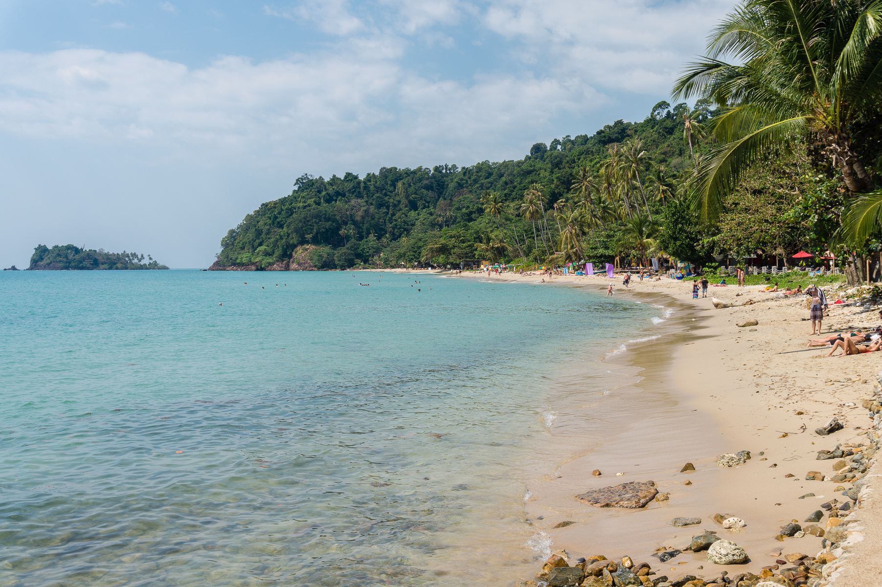 Lonely Beach, Koh Chang, Thaimaa