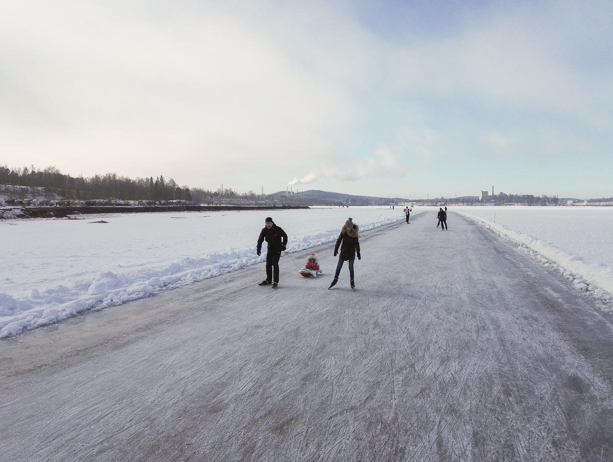 Retkiluistelu, Näsijärvi, Tampere