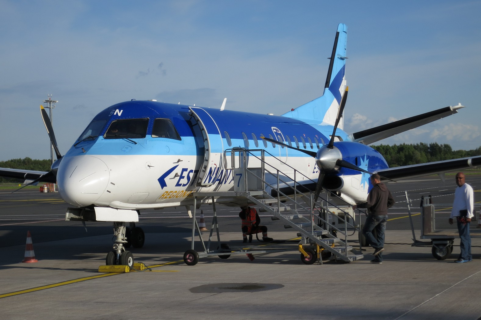 Saab 340 Estonian Air