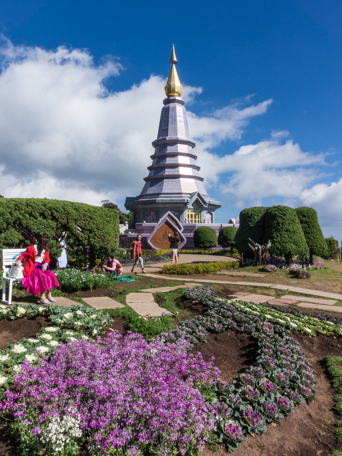 Mae Hong Son Loop, Doi Inthanon, Thaimaa