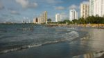 Bocagrande, Cartagena, Kolumbia, Karibianmeren rannikko 12-14.10.2011