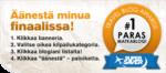Äänestä minut Paras matkablogi -kilpailun voittoon!