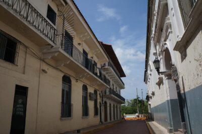 Saapuminen Panama Cityyn