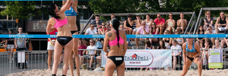 Beach Wolleyn SM-kisat 2013 naisten puolivälierät