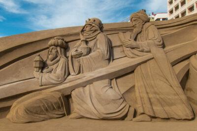 belen de arena, las palmas
