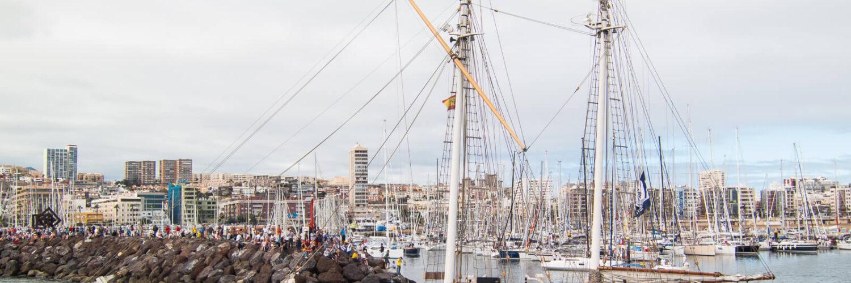 ARC-purjehdus, Las Palmas