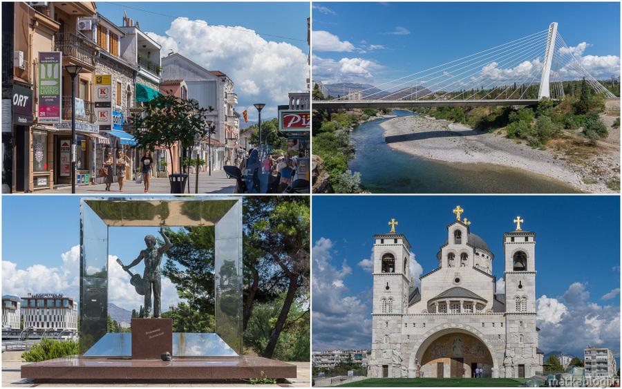 Montenegron pääkaupunki Podgorica