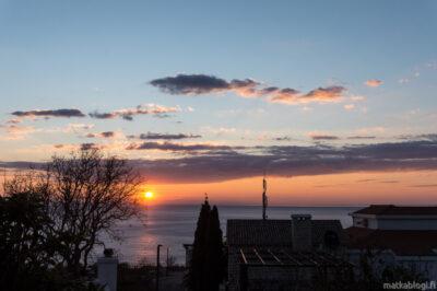 Montenegron auringonlasku