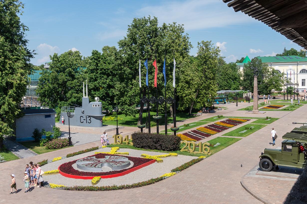Nizhni Novgorodin kreml, Trans-Siperia autolla 18.6.2016