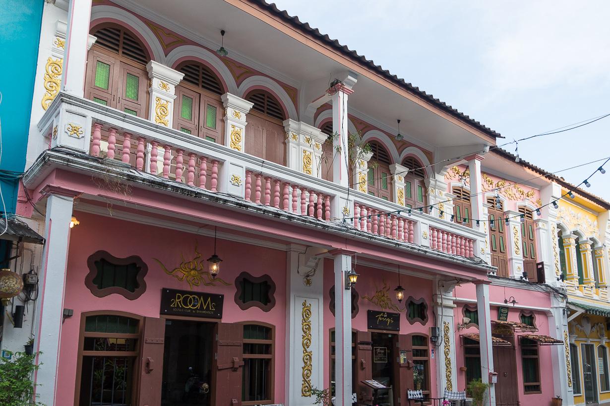 Phuket Townin vanhakaupunki