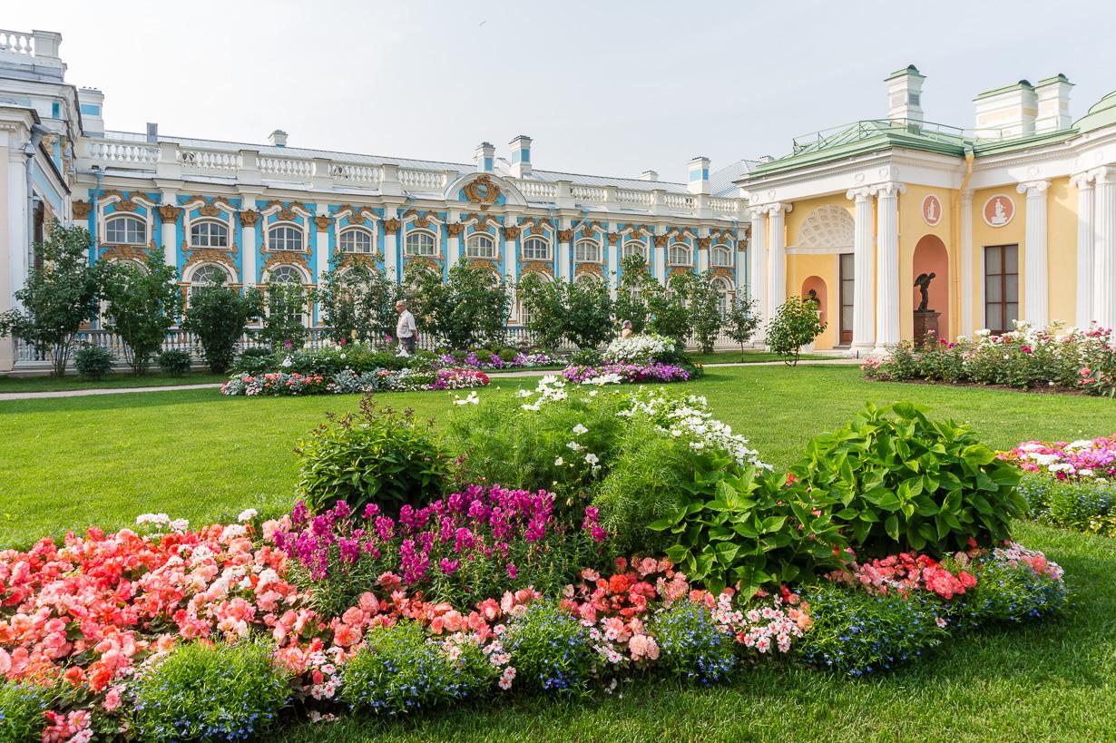 Katariinan palatsi, Pushkin, Pietari