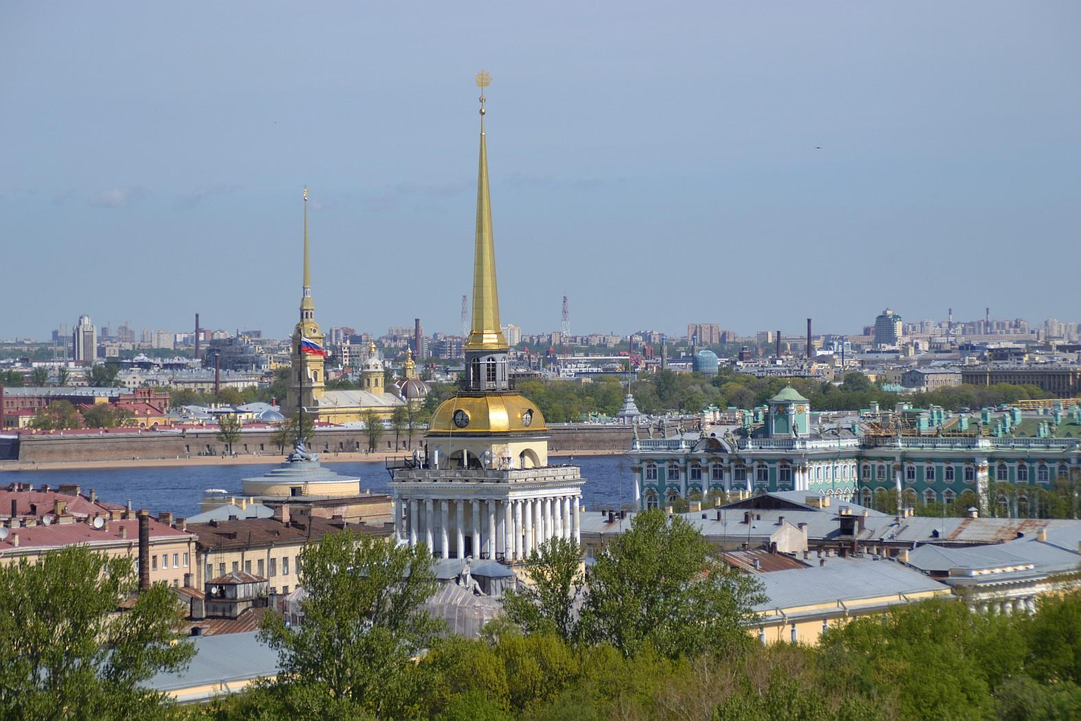 Iisakinkirkon näkötorni, Pietari, Pietarin nähtävyydet top 4
