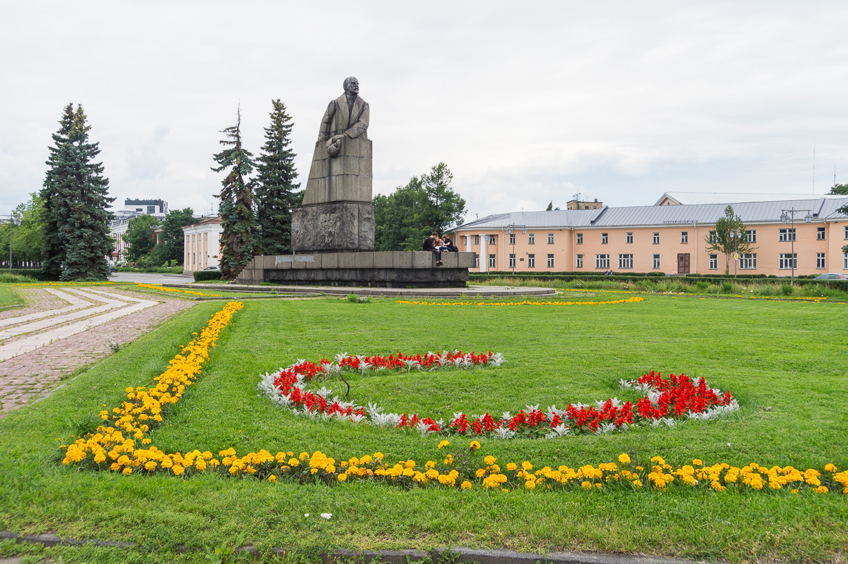Leninin patsas, Petroskoi