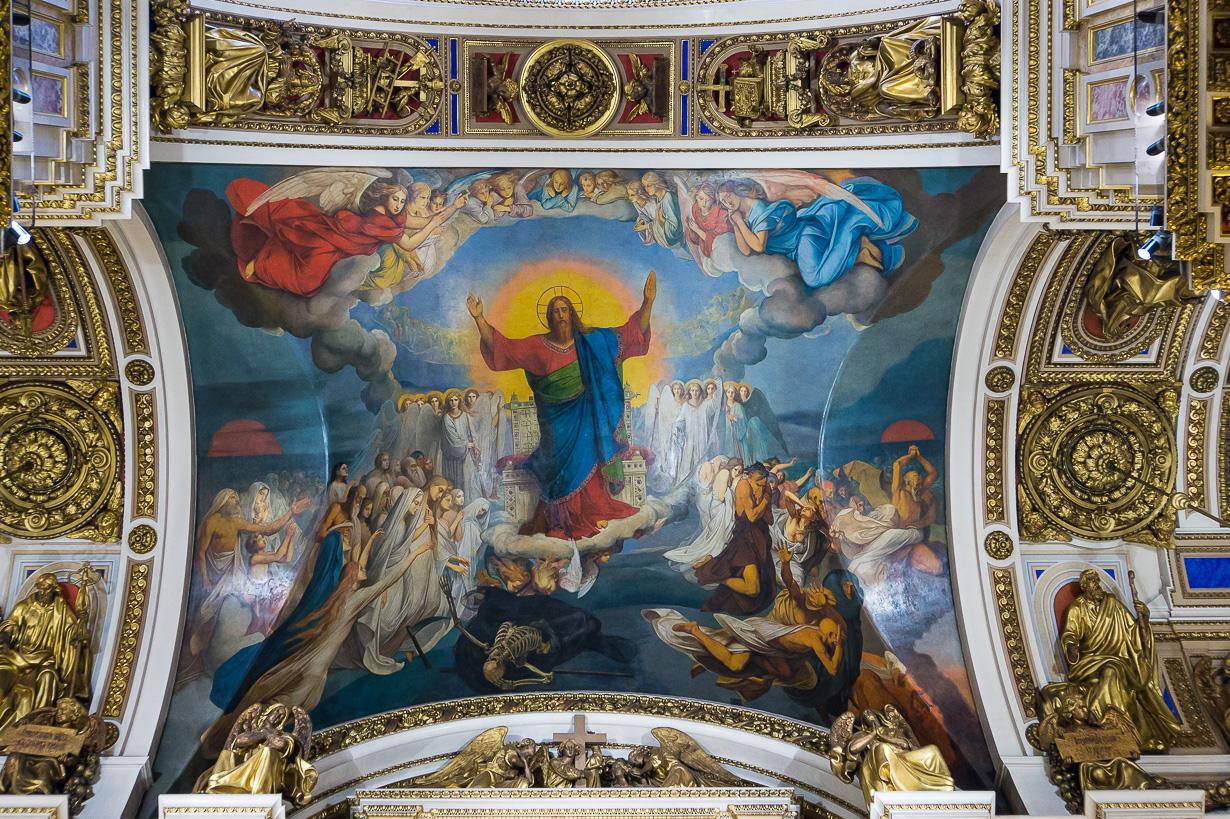 Iisakin kirkko, Pietari 2018