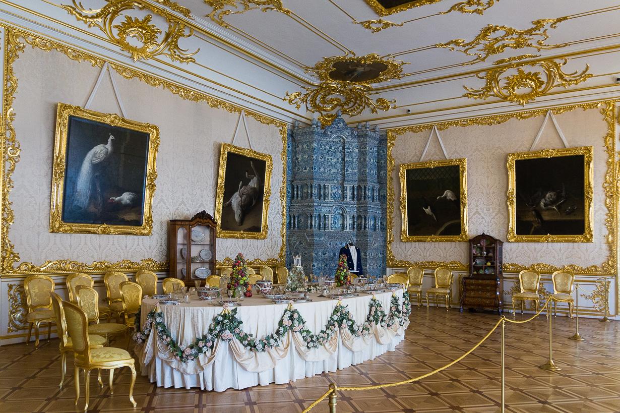 Katariinan palatsi, Pushkin eli Tsarskoje Selo
