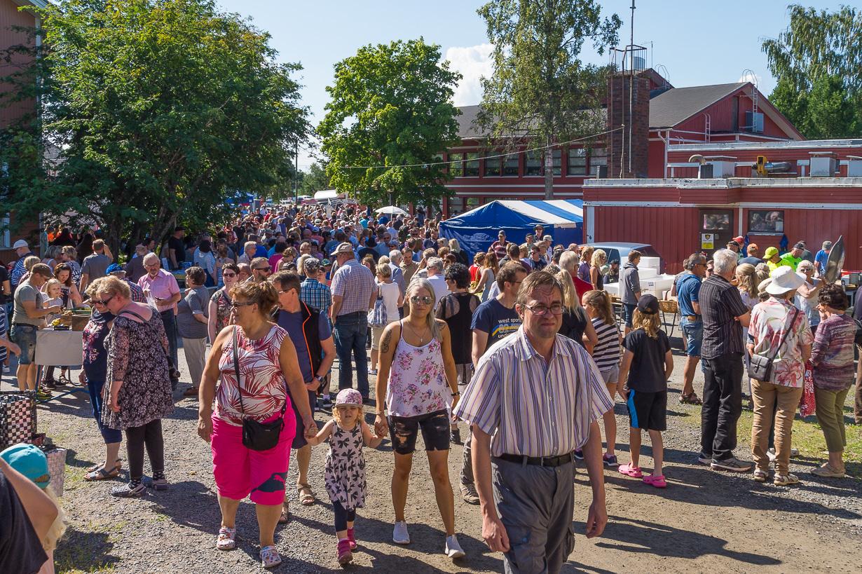 Raumankarin kotiseutumarkkinat 2018, Himanka