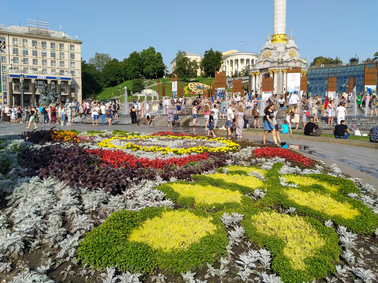 Kiova, Ukraina 2018