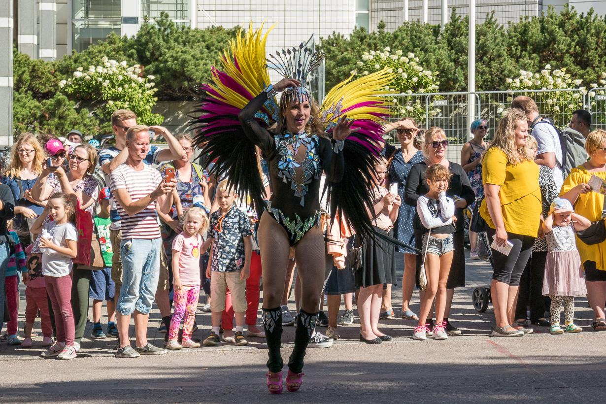 Tampereen sambakulkue 2018