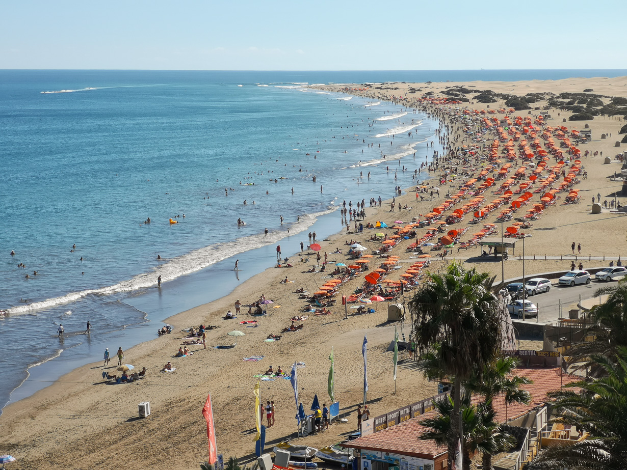 Playa del Ingles, Gran Canaria, Kanariansaaret