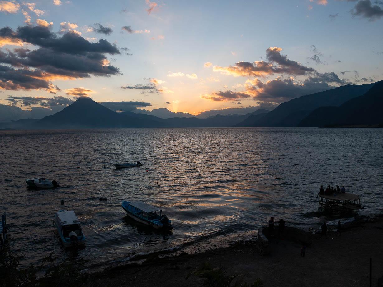 Panajachel, Atitlanjärvi, Guatemala