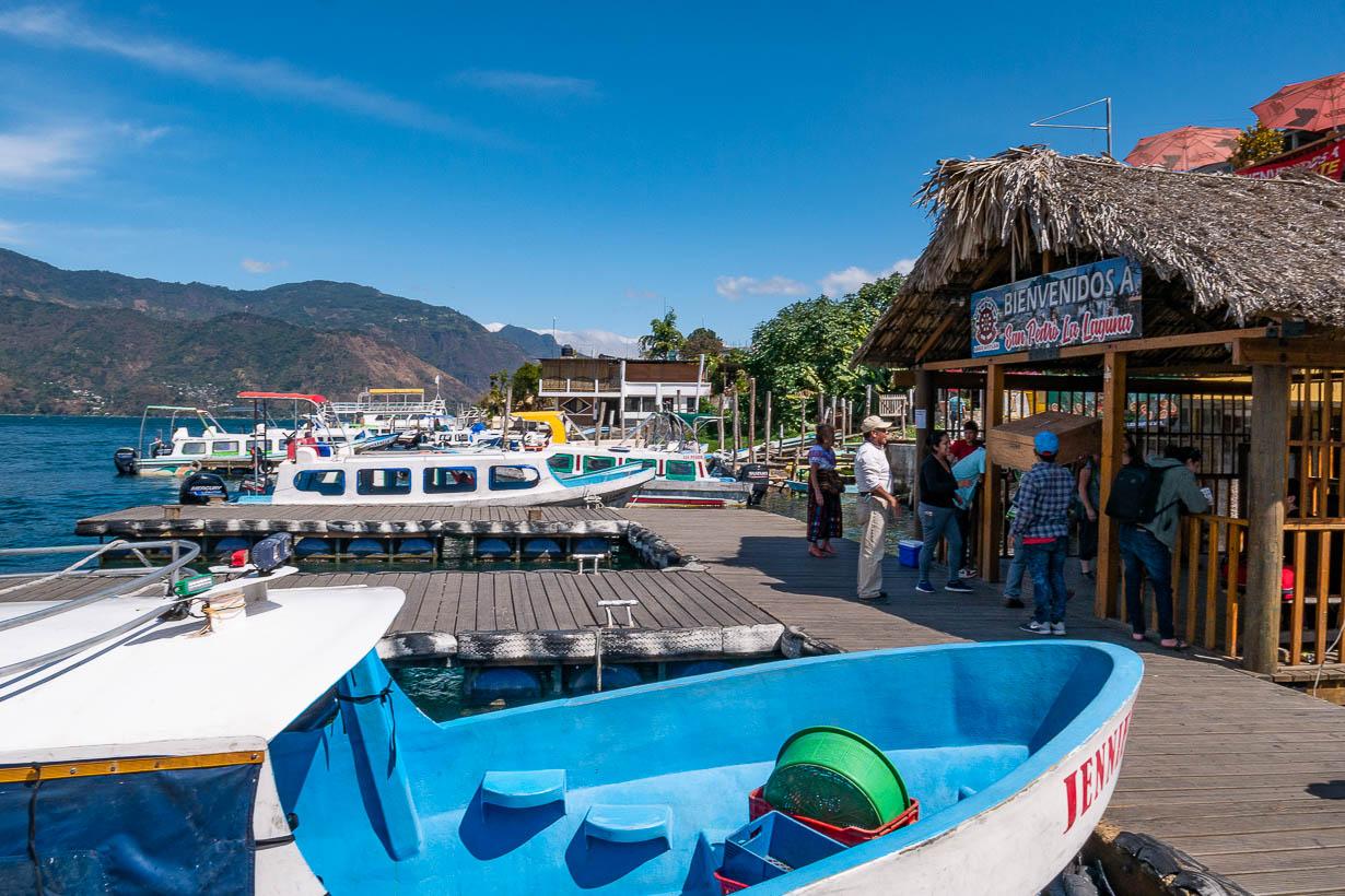 San Pedro La Laguna, Atitlanjärvi, Guatemala