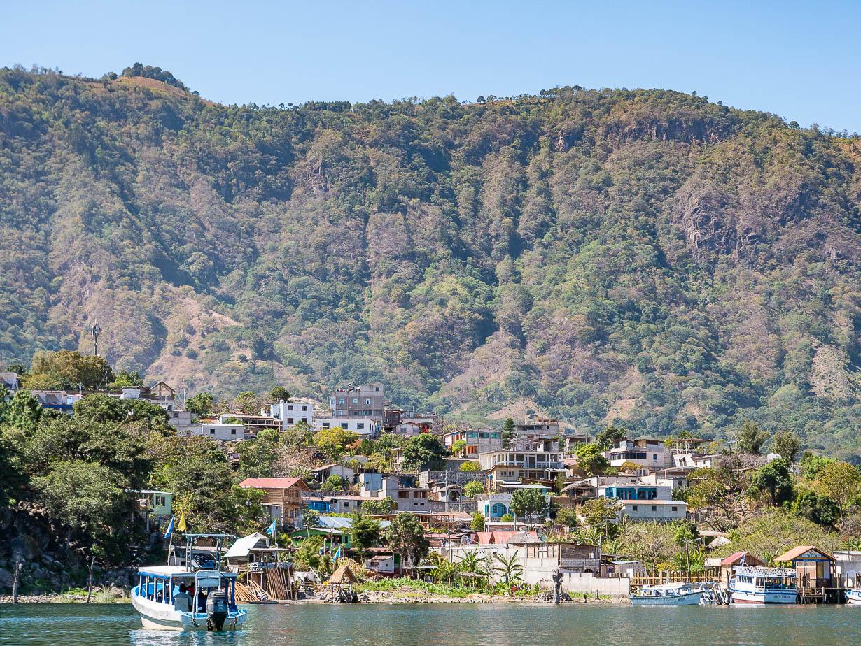 San Juan La Laguna, Atitlanjärvi, Guatemala