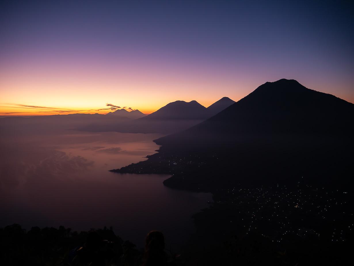 Intiaanin nenä (Indian Nose, La Nariz del Indio), Atilanjärvi, Guatemala