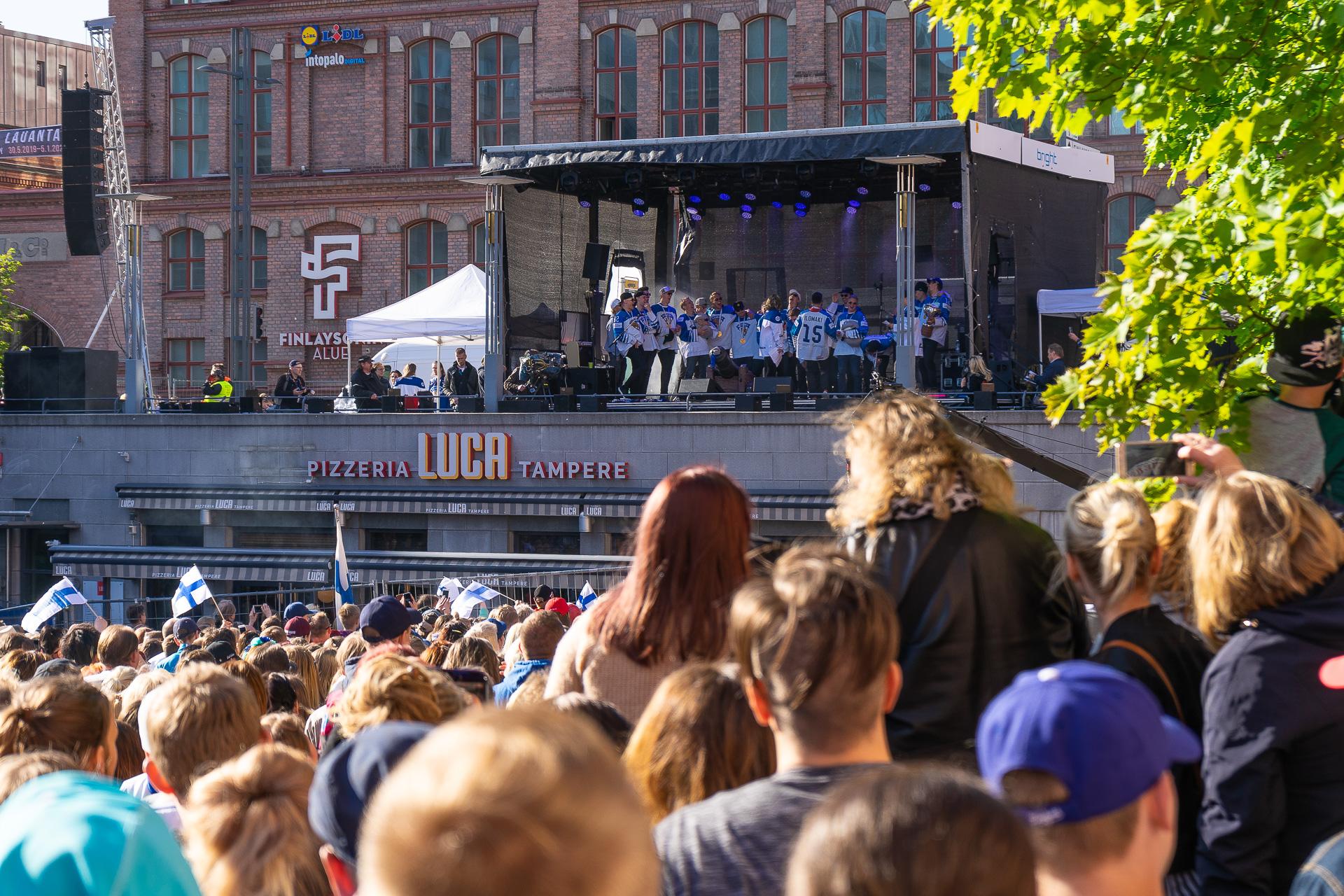 Jääkiekon maailmanmestarit 2019 Tampereella