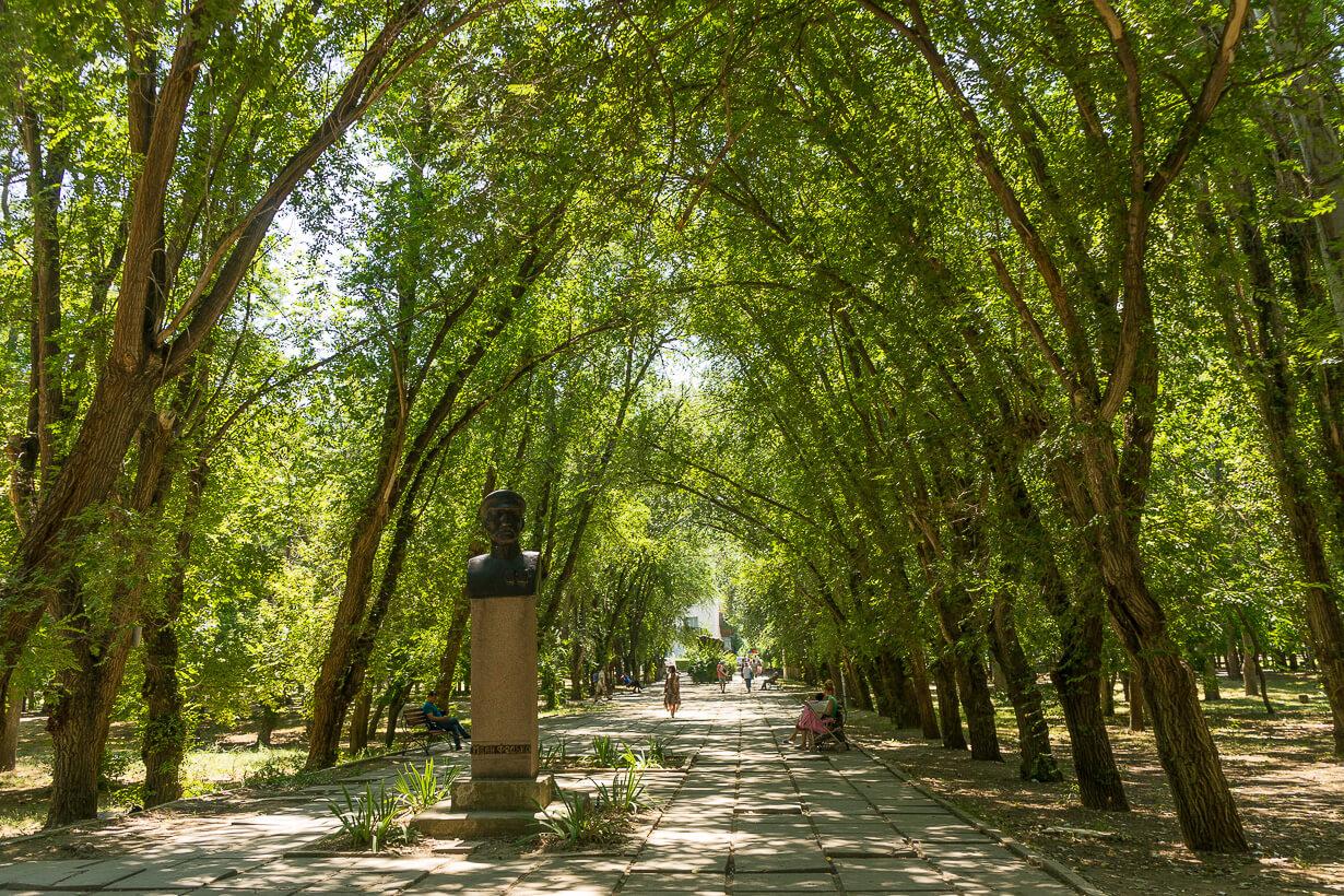 Komsomolin puisto Feodosiassa
