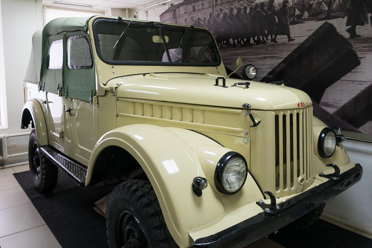 Ivanovon neuvostoliittolaisten autojen museo, Venäjän kultainen rengas