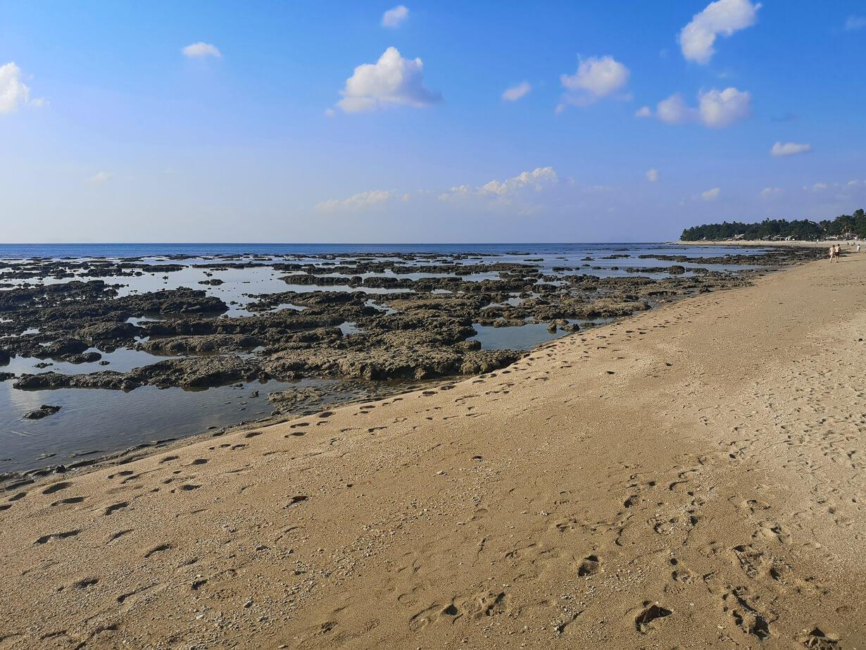 Klong Khong -uimaranta on kivinen