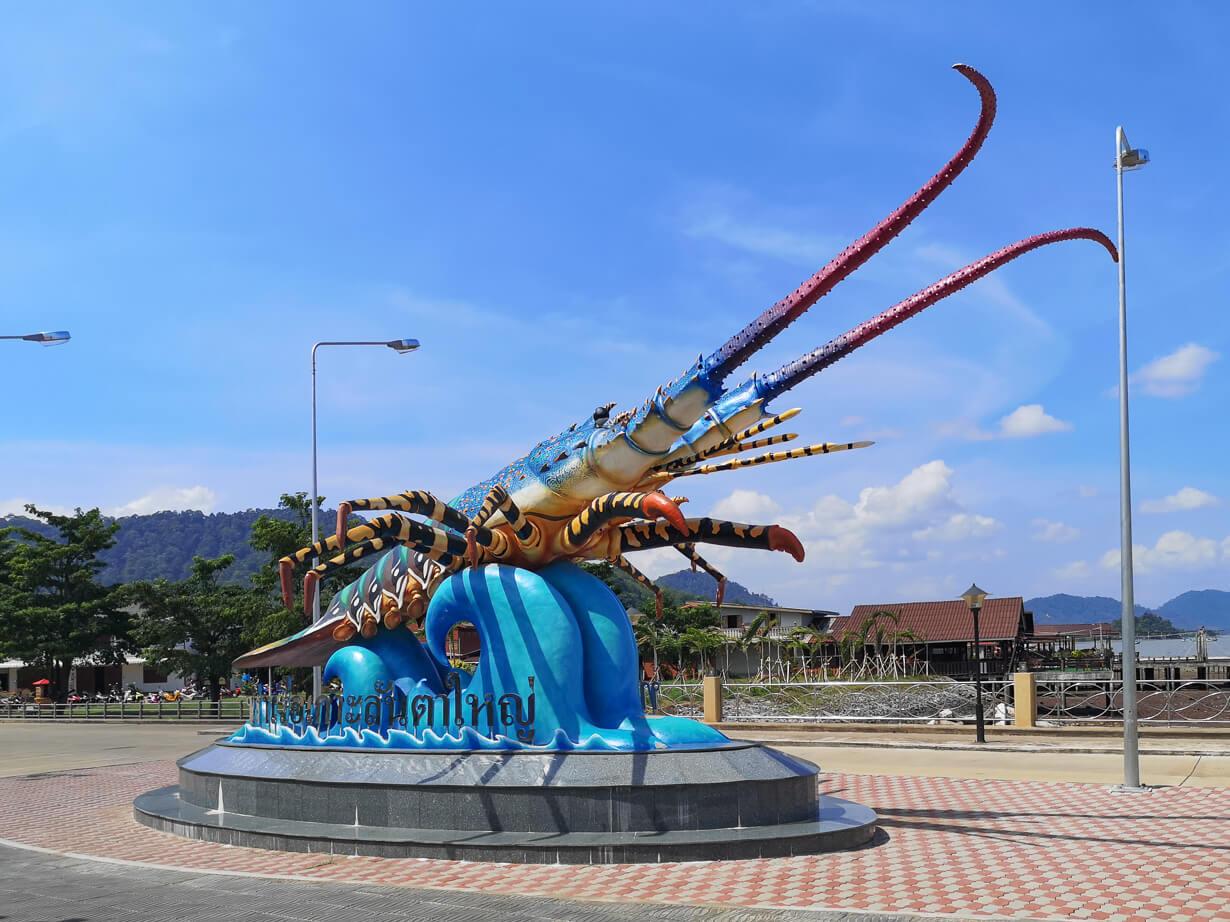 Rapu Koh Lantan vanhassakaupungissa