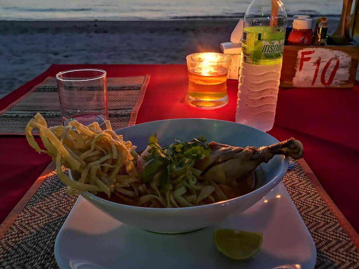 Rantaravintola-ateria Klong Khongilla