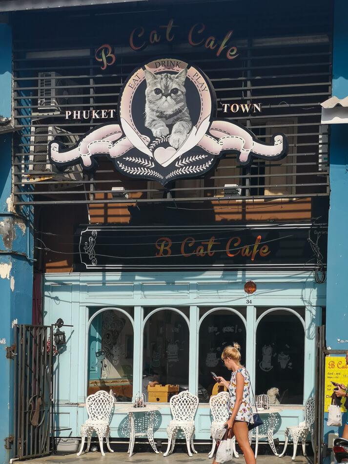 B Cat Cafe, Phuket Town