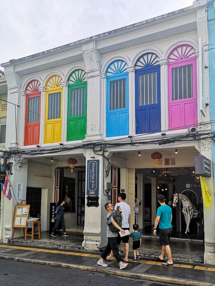 Thalang-katu, Phuket Town