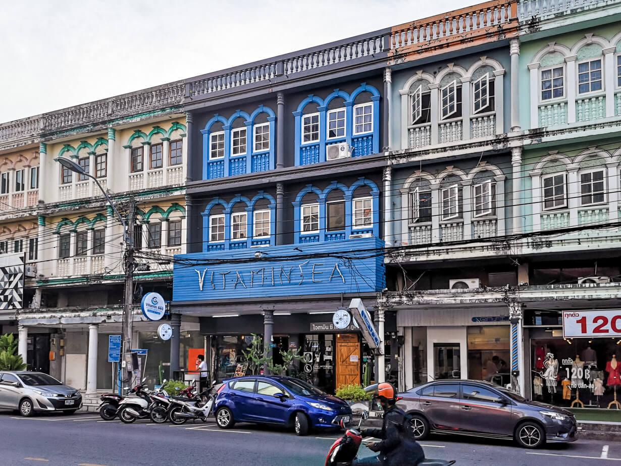 Montri-katu, Phuket Townin vanhakakupunki