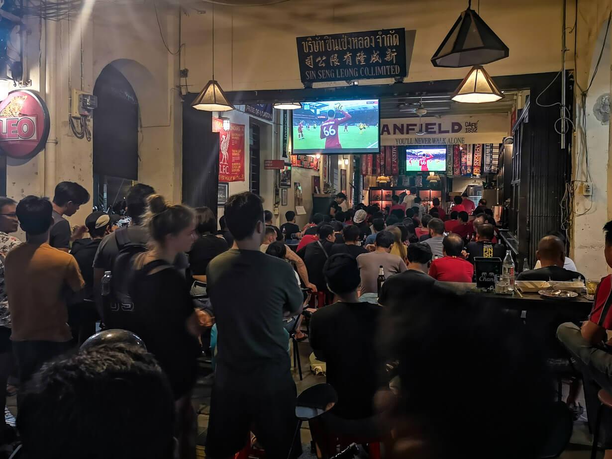 Anfield Cafe, Phuket Townin vanhakakupunki