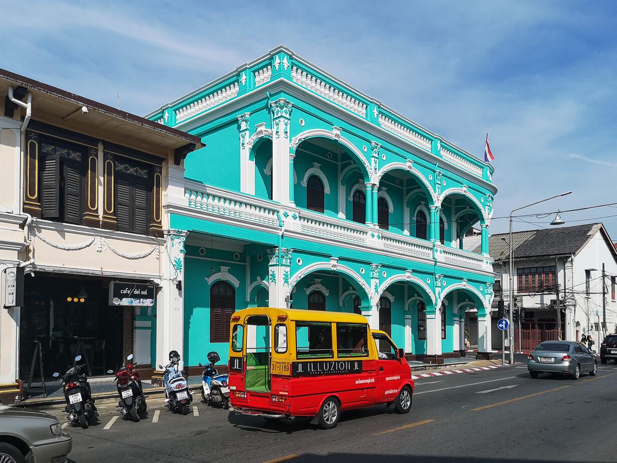 Phuket Townin vanhakakupunki