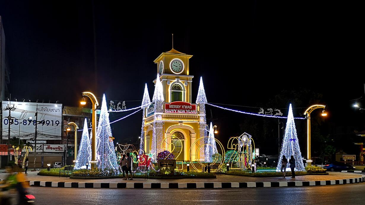 Surin-kellotorni, Phuket Town