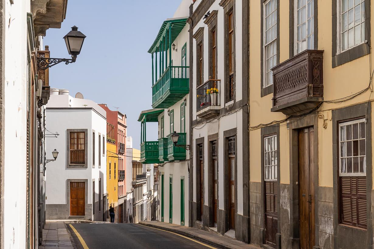 Veguetan kanarialaiset parvekkeet, Las Palmas de Gran Canaria