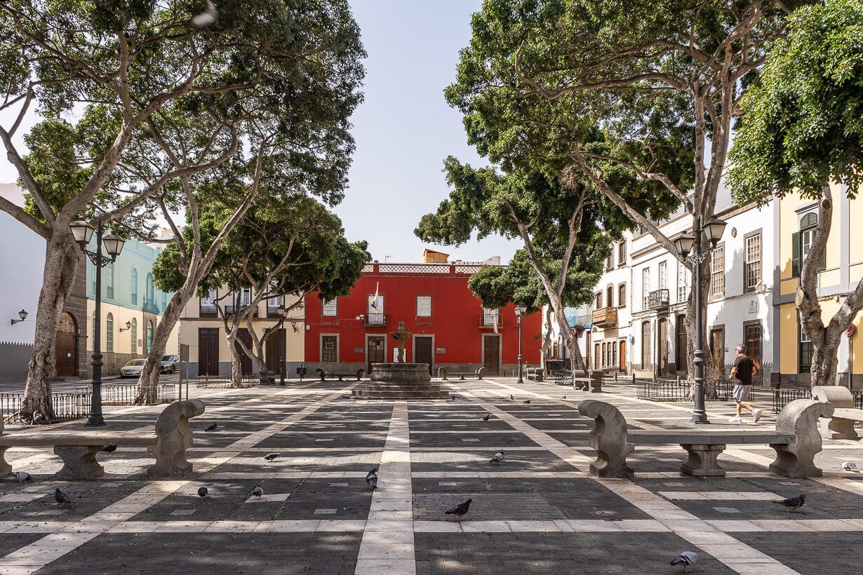 Santo Domingon aukio, Vegueta, Las Palmas de Gran Canaria