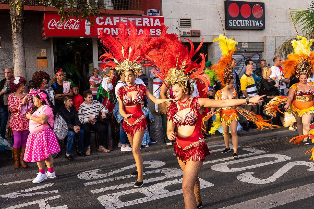 Las Palmasin karnevaalien 2020 suuri kulkue