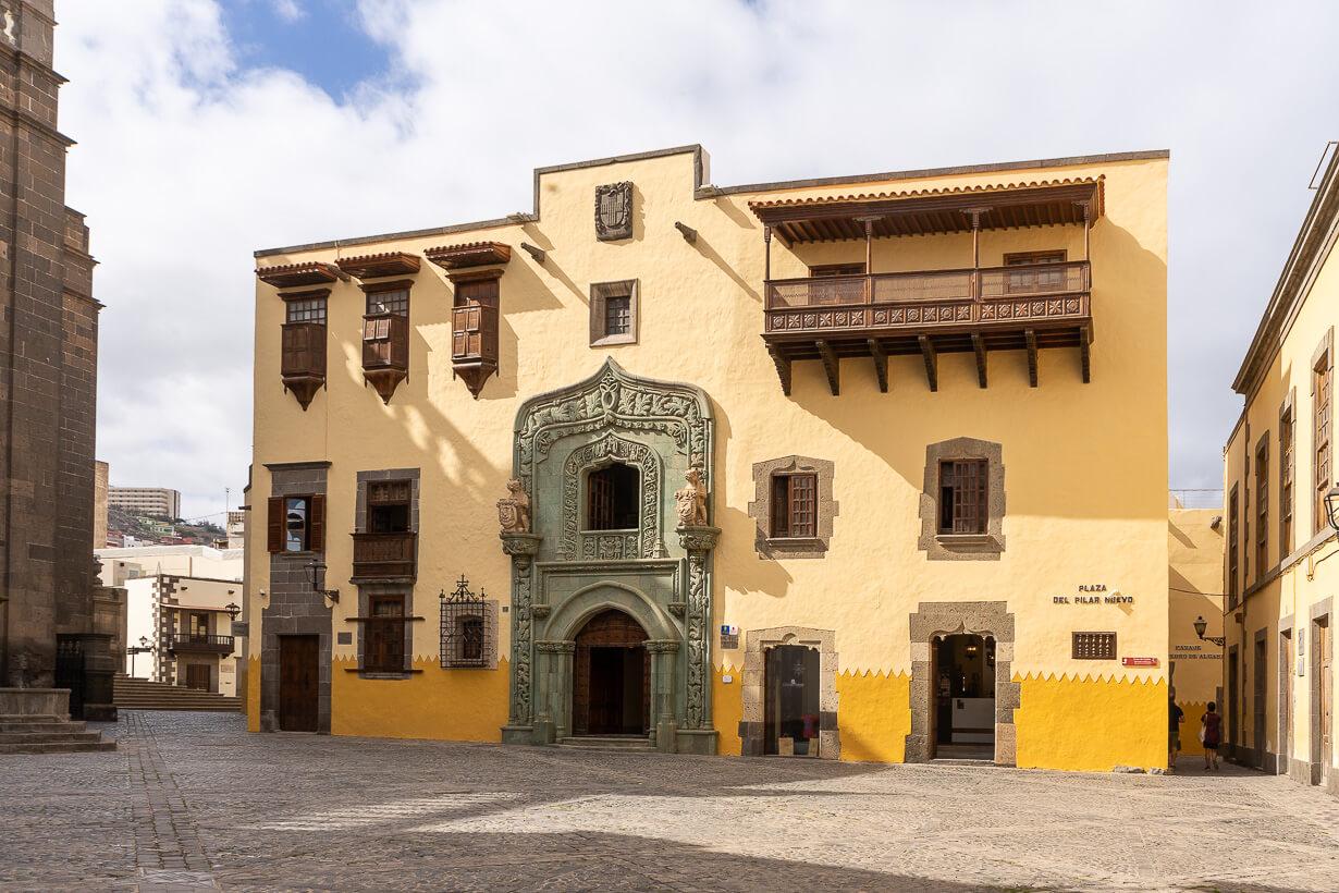 Kolumbuksen kotimuseo Casa Colon, Veguetan nähtävyydet, Las Palmas de Gran Canaria