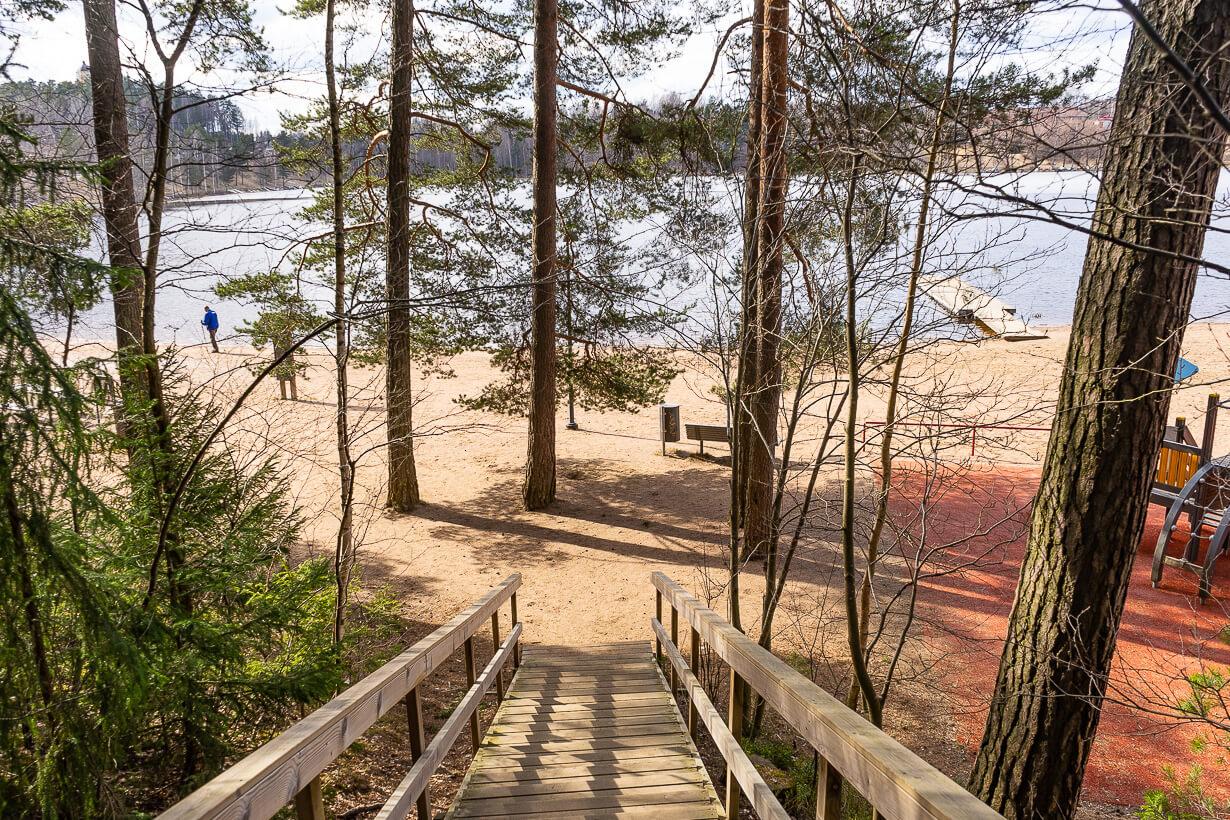 Maatialanharjun luontopolku ja Kennonnokan uimaranta, Nokia