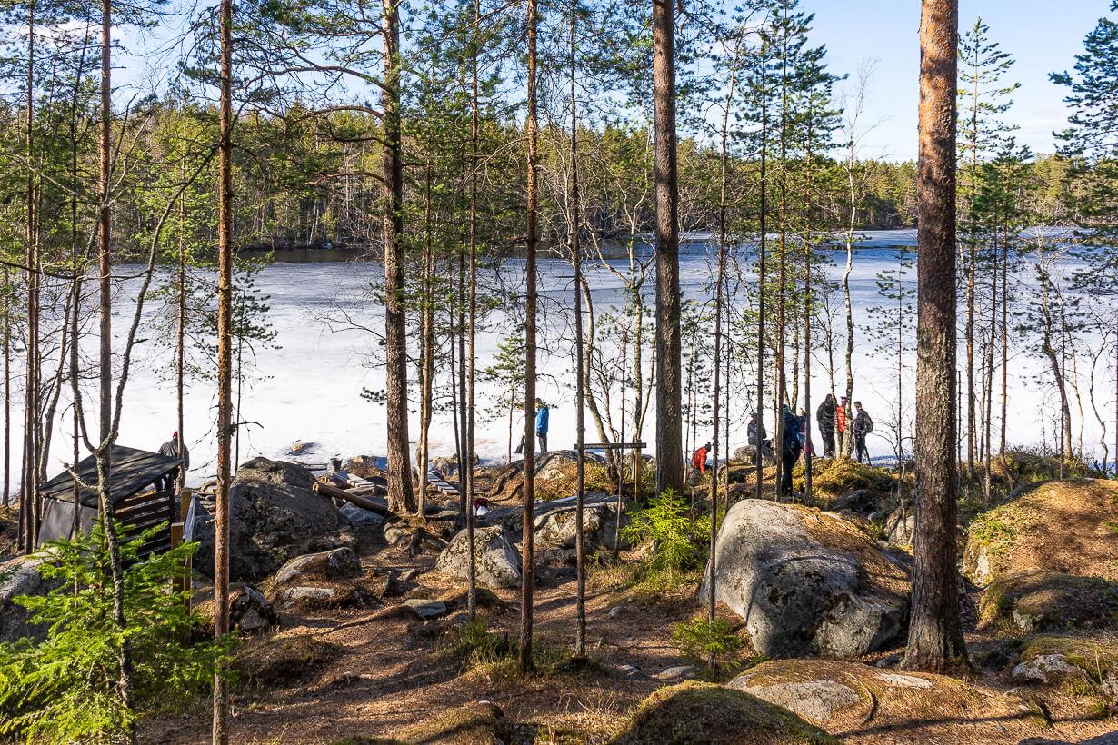 Kivikeskun luontopolku, nuotiopaikka 1, Nokia