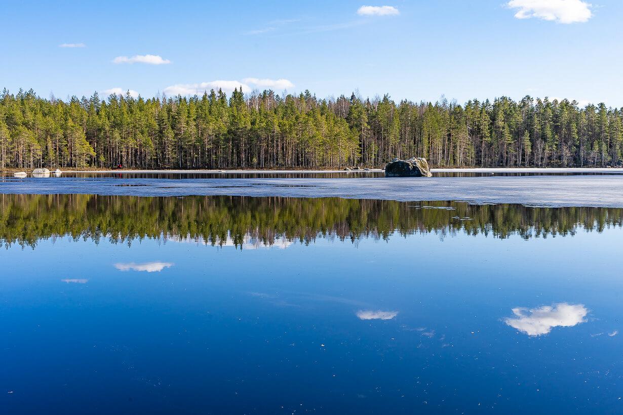 Kivikeskun luontopolku, Nokia