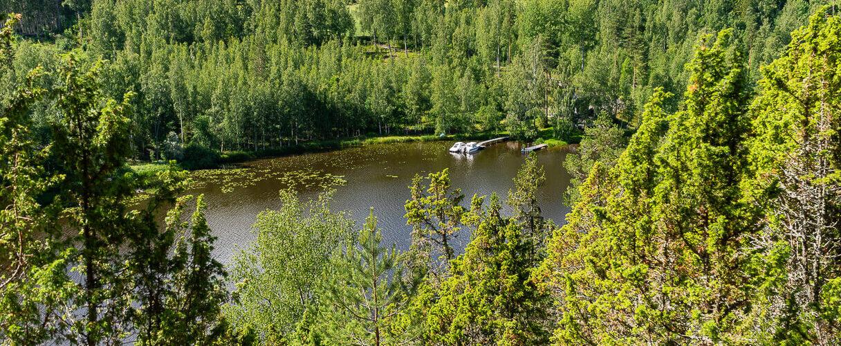 Ristivuoren luontopolku, Sastamala