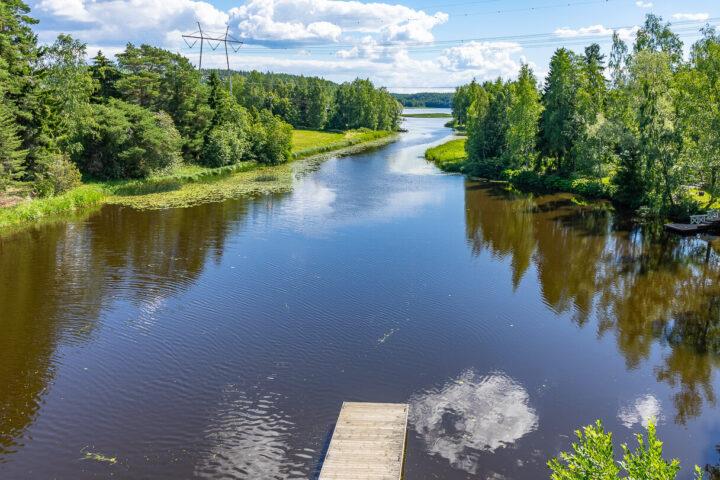 Otamussilta, Sastamala, Otamuskahvila sillan toisella puolella