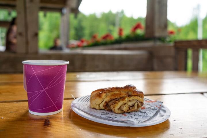 Otamuskahvila, Sastamala, kahvi ja korvapuusti