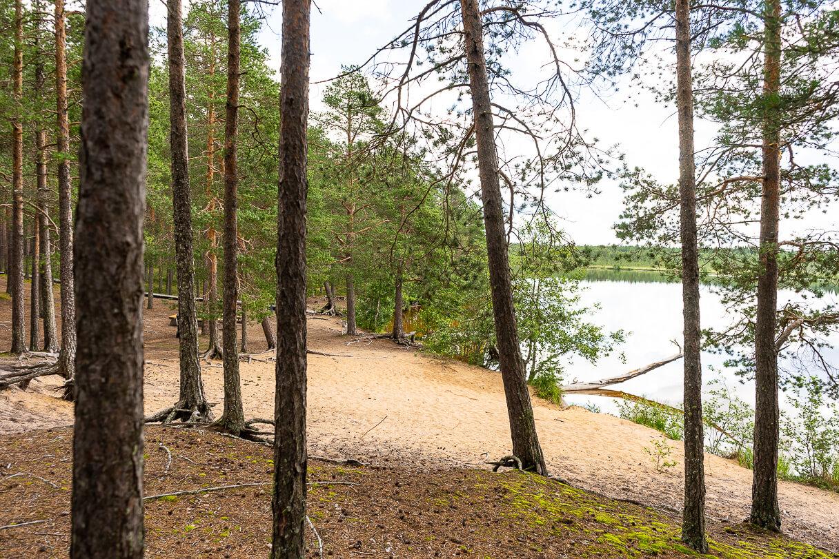 Uimaranta, Pitkäjärven patikointi, Kalajoki